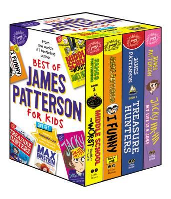 Best of James Patterson for Kids Boxed Set (with Bonus Max Einstein Sampler) Cover Image