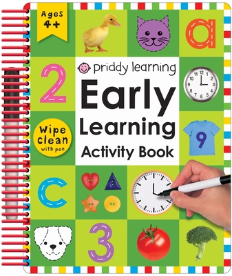 Wipe Clean: Early Learning Activity Book (Wipe Clean Early Learning Activity Books) Cover Image