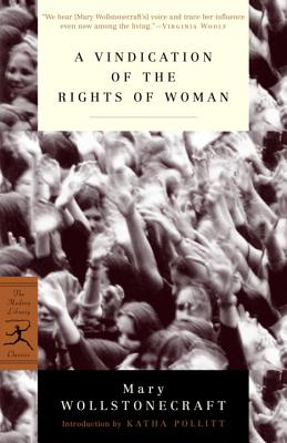 A Vindication of the Rights of Woman Cover