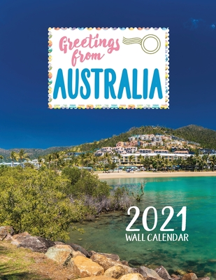Greetings from Australia 2021 Wall Calendar Cover Image