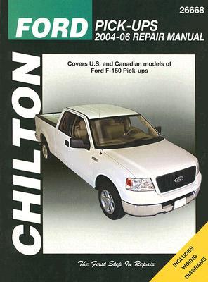 Ford Pick-Ups 2004-06 Repair Manual Cover Image