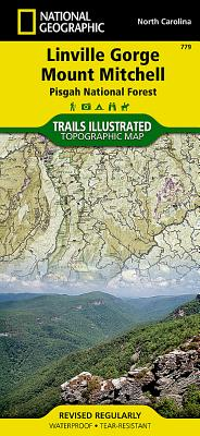 Linville Gorge, Mount Mitchell [Pisgah National Forest] (National Geographic Trails Illustrated Map #779) Cover Image