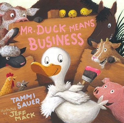 Mr. Duck Means Business Cover
