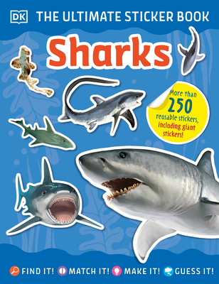 The Ultimate Sticker Book Sharks Cover Image