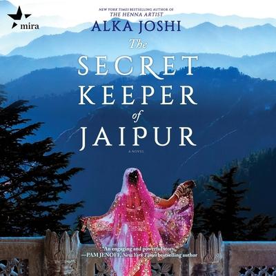 The Secret Keeper of Jaipur Lib/E Cover Image