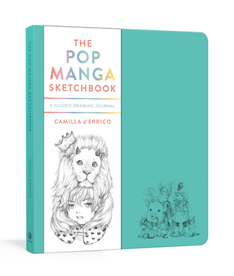 The Pop Manga Sketchbook: A Guided Drawing Journal Cover Image