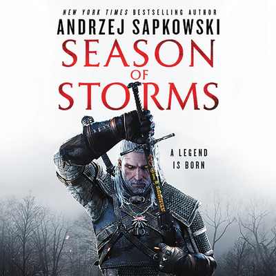 Season of Storms Lib/E (Witcher #8) cover