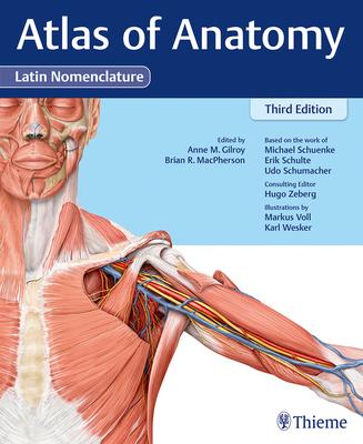 Atlas of Anatomy, 3e Latin Cover Image