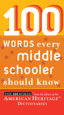 100 Words Every Middle Schooler Should Know Cover