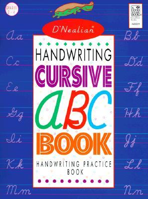 D'Nealian Handwriting Cursive ABC Book Cover Image