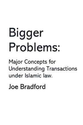 Bigger Problems: Major Concepts for Understanding Transactions under Islamic law Cover Image