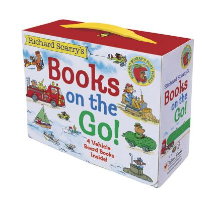 Richard Scarry's Books on the Go: 4 Board Books Cover Image