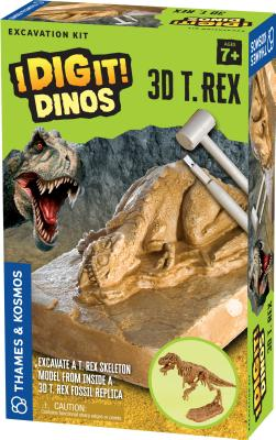 I Dig It Dinos - 3D T Rex Exca Cover Image