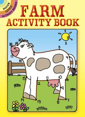 Farm Activity Book (Dover Little Activity Books) Cover Image