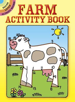 Farm Activity Book (Dover Little Activity Books) Cover Image