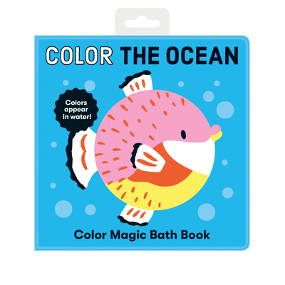 Color the Ocean Color Magic Bath Book Cover Image