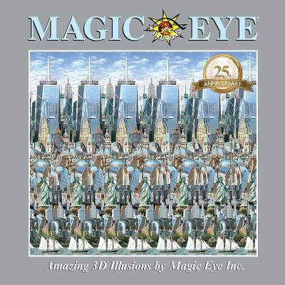Magic Eye 25th Anniversary Book Cover Image