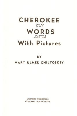 Cherokee Words Cover Image