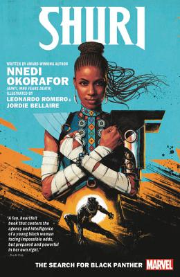 Shuri: The Search for Black Panther Cover Image