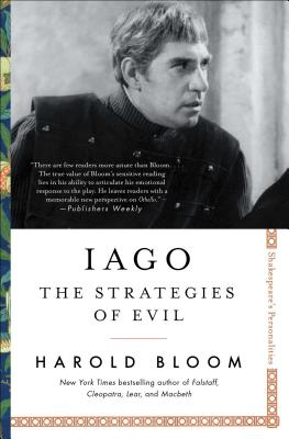 Iago: The Strategies of Evil (Shakespeare's Personalities #4) Cover Image