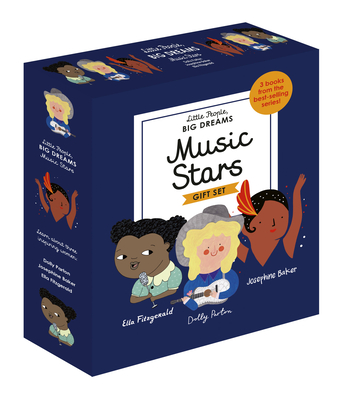 Little People, BIG DREAMS: Music Stars: 3 books from the best-selling series! Ella Fitzgerald - Dolly Parton - Josephine Baker Cover Image