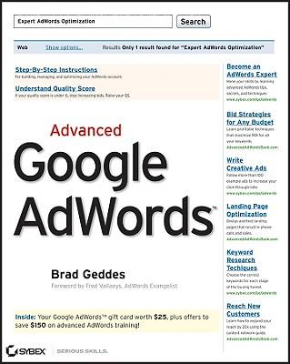 Advanced Google AdWords Cover Image