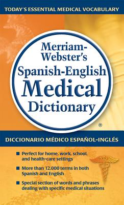 Merriam-Webster's Spanish-English Medical Dictionary Cover Image