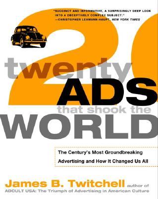 Twenty Ads That Shook the World Cover