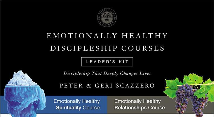 Emotionally Healthy Discipleship Course Leader's Kit: Discipleship That Deeply Changes Lives (Emotionally Healthy Spirituality) Cover Image