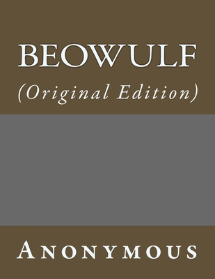 Beowulf: (Original Edition) Cover Image