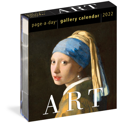 Art Page-A-Day Gallery Calendar 2022: A Year of Masterpieces on Your Desk. Cover Image
