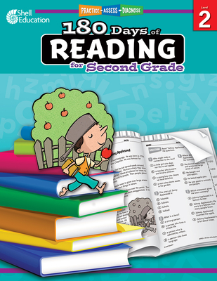 180 Days of Reading for Second Grade: Practice, Assess, Diagnose (180 Days of Practice) Cover Image