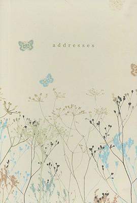Butterflies Address Book Cover Image