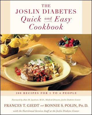 Cover for The Joslin Diabetes Quick and Easy Cookbook