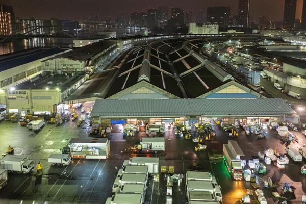 Cover for Tsukiji Fish Market