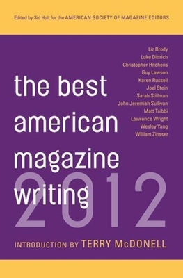The Best American Magazine Writing 2012 Cover Image