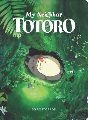 My Neighbor Totoro: 30 Postcards: (Anime Postcards, Japanese Animation Art Cards) Cover Image