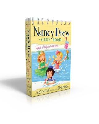 Cover for Nancy Drew Clue Book Mystery Mayhem Collection Books 1-4