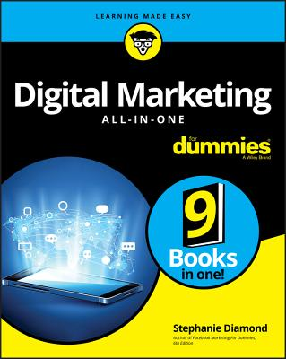 Digital Marketing All-In-One for Dummies Cover Image