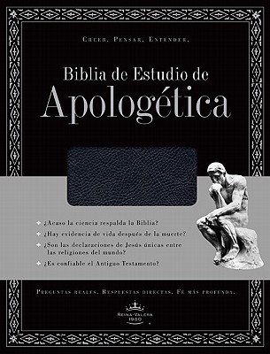 Biblia de Estudio de Apologetica-Rvr 1960 Cover