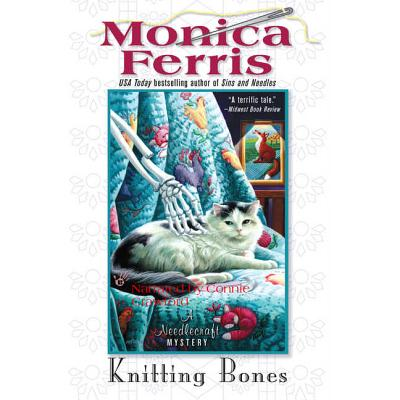 Knitting Bones (Needlecraft Mysteries (Audio) #11) Cover Image