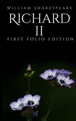 Richard II: First Folio Edition Cover Image