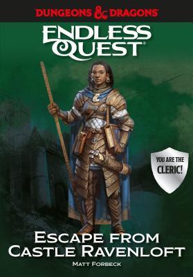 Dungeons & Dragons: Escape from Castle Ravenloft: An Endless Quest Book Cover Image