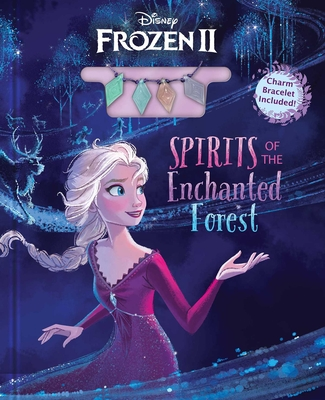 Disney Frozen 2: Spirits of the Enchanted Forest (Deluxe Book Plus) Cover Image