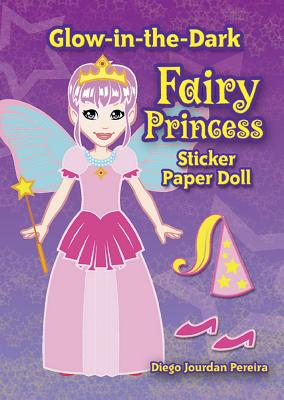 Glow-In-The-Dark Fairy Princess Sticker Paper Doll Cover Image