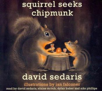 Squirrel Seeks Chipmunk Cover