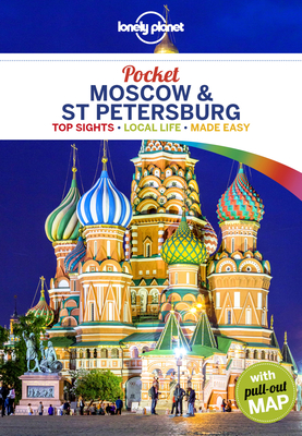 Lonely Planet Pocket Moscow & St Petersburg 1 Cover Image