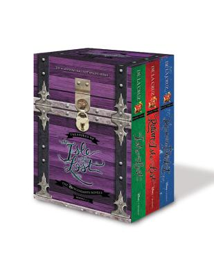 Treasures of the Isle of the Lost [3-Book Hardcover Boxed Set + Poster] (The Descendants) Cover Image