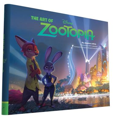 The Art of Zootopia Cover Image