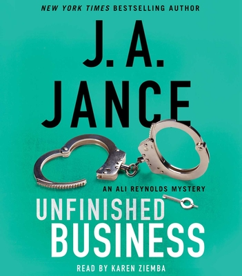 Unfinished Business (Ali Reynolds Series #16) Cover Image